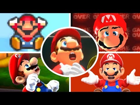 Evolution of Mario Deaths and Game Over Screens (1981-2017)