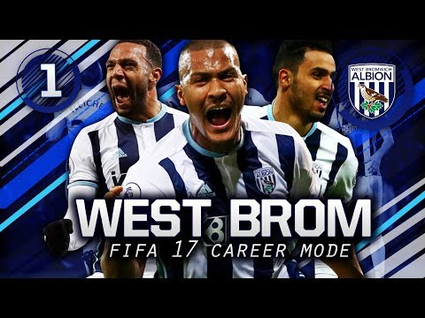 FIFA 17 Career Mode | NEW TRANSFERS! YOUNG HIGH POTENTIAL PLAYERS SIGN!! | West Brom Episode 1