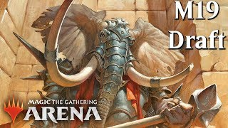 MTG Arena Beta | Competitive M19 Draft & Gameplay [Fly My Pretties]