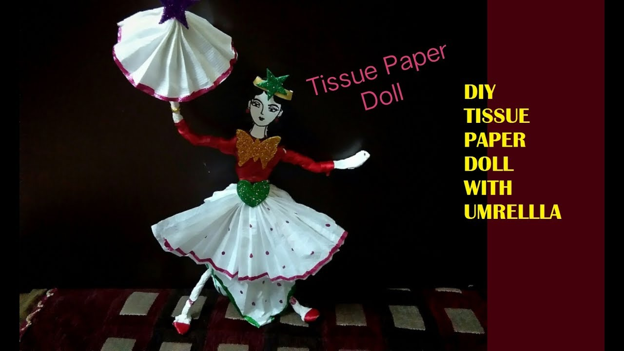 Tissue paper ballerina best paper 2017 thick tissue paper for crafts how to make a ballerina jeuxipadfo Gallery