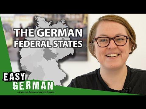 The 16 German Federal States | Easy German 384