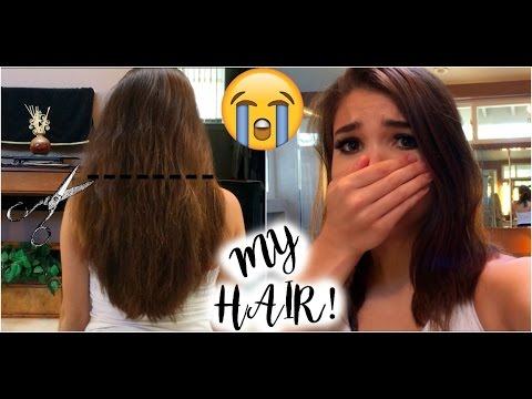 I MESSED UP MY HAIR~How To Trim Your Own Hair (Gone Wrong)