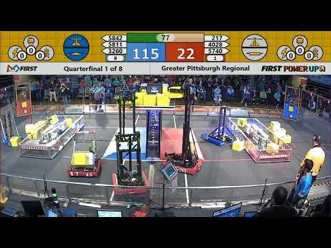 Quarterfinal 1 - 2018 Greater Pittsburgh Regional