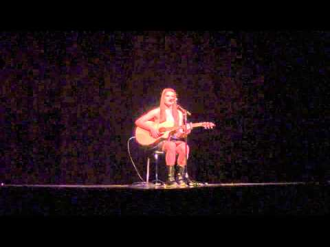 Brooke Harrison - Performing A-Team - Williams Talent Show 2014