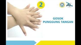 6 Langkah cuci tangan versi WHO