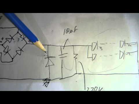Philips LED T8 Schematic - YouTube