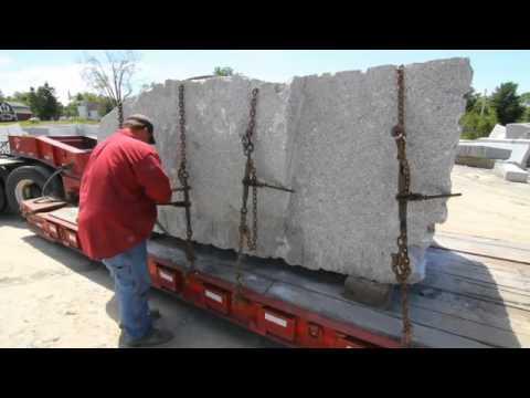 Mining, refining Deer Isle granite for MaineGeneral's new hospital