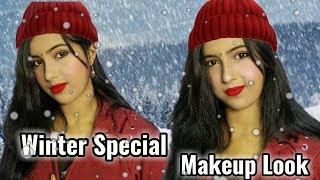 Winter Special Makeup Look    Winter Special Makeup Tips And Tricks