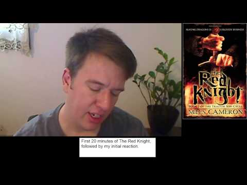 First :20 - The Red Knight by Miles Cameron + Initial Reaction.