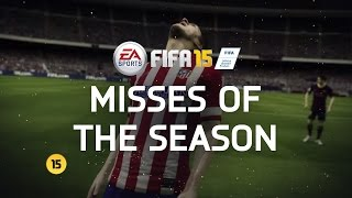 FIFA 15 - Misses of the Season