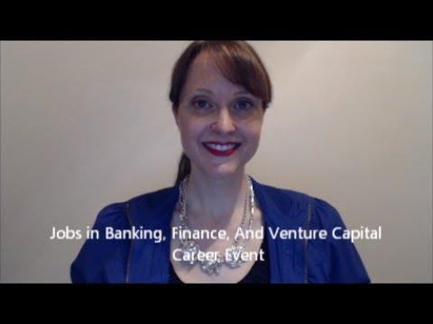 Jobs in Banking, Finance & Venture Capital Career Event