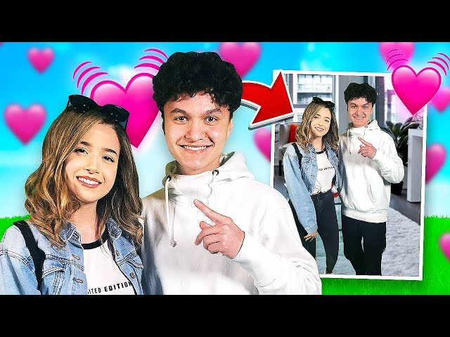 My Little Brother Meets His Crush for First Time (Pokimane & FaZe Jarvis)