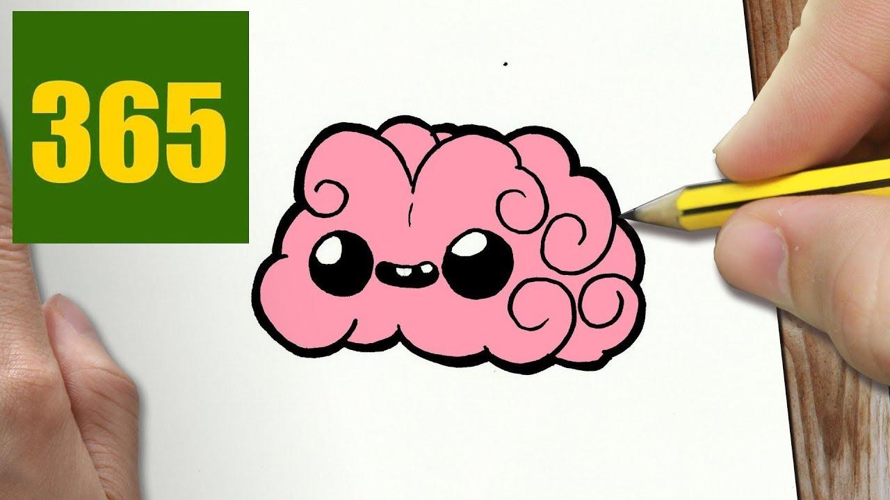 Come disegnare cervello kawaii passo dopo passo disegni for Immagini disegni kawaii
