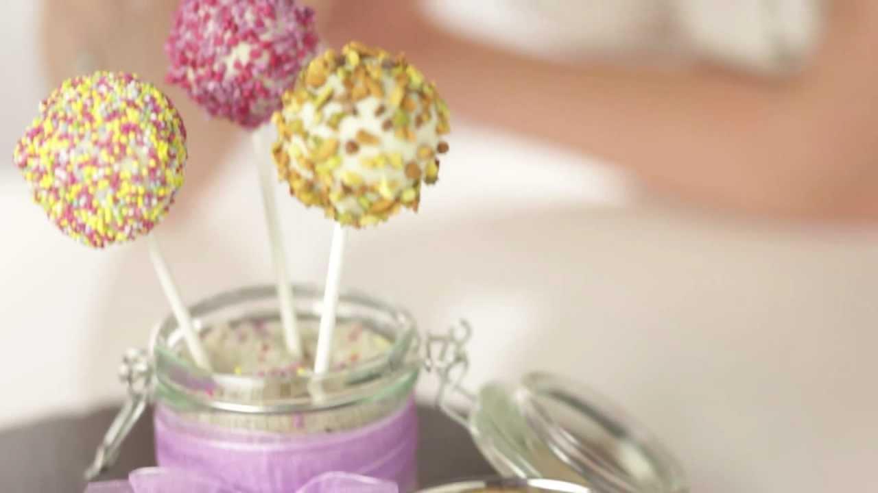 Cake pops recette en vid o youtube - Recette pop cake ...