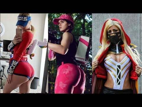 TOP 100 SEXY FORTNITE SKINS IN REAL LIFE!