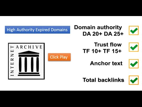 Buy Authority Expired Domains At ExDomainInspector