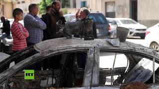 Estas son las consecuencias de los bombardeos en Trípoli