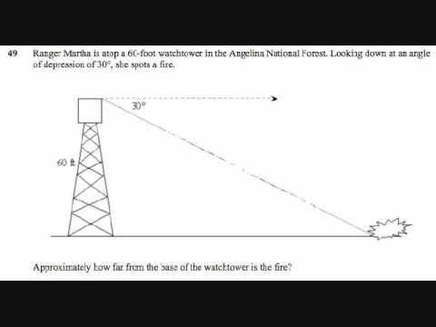 Special Right Triangles, 45-45-90 Triangles, and 30-60-90