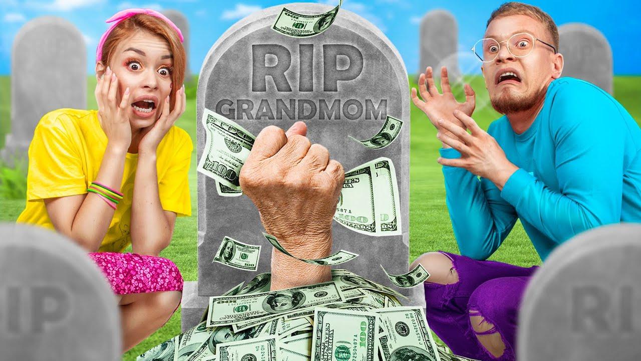 Бабушка оставила нам в наследство миллион долларов