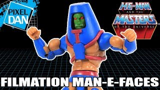 Filmation Man-E-Faces He-Man and the Masters of the Universe Figure Video Review