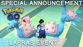 LAPRAS EVENT IN JAPAN + SPECIAL ANNOUNCEMENT!!