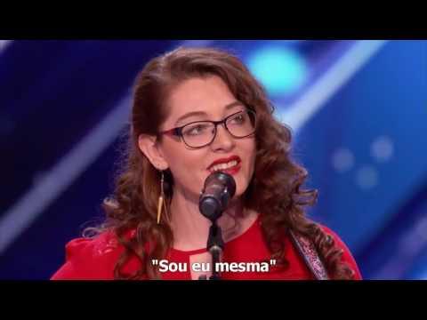 Mandy Harvey  - Cantora surda SURPREENDE jurados [Legendas em Português]