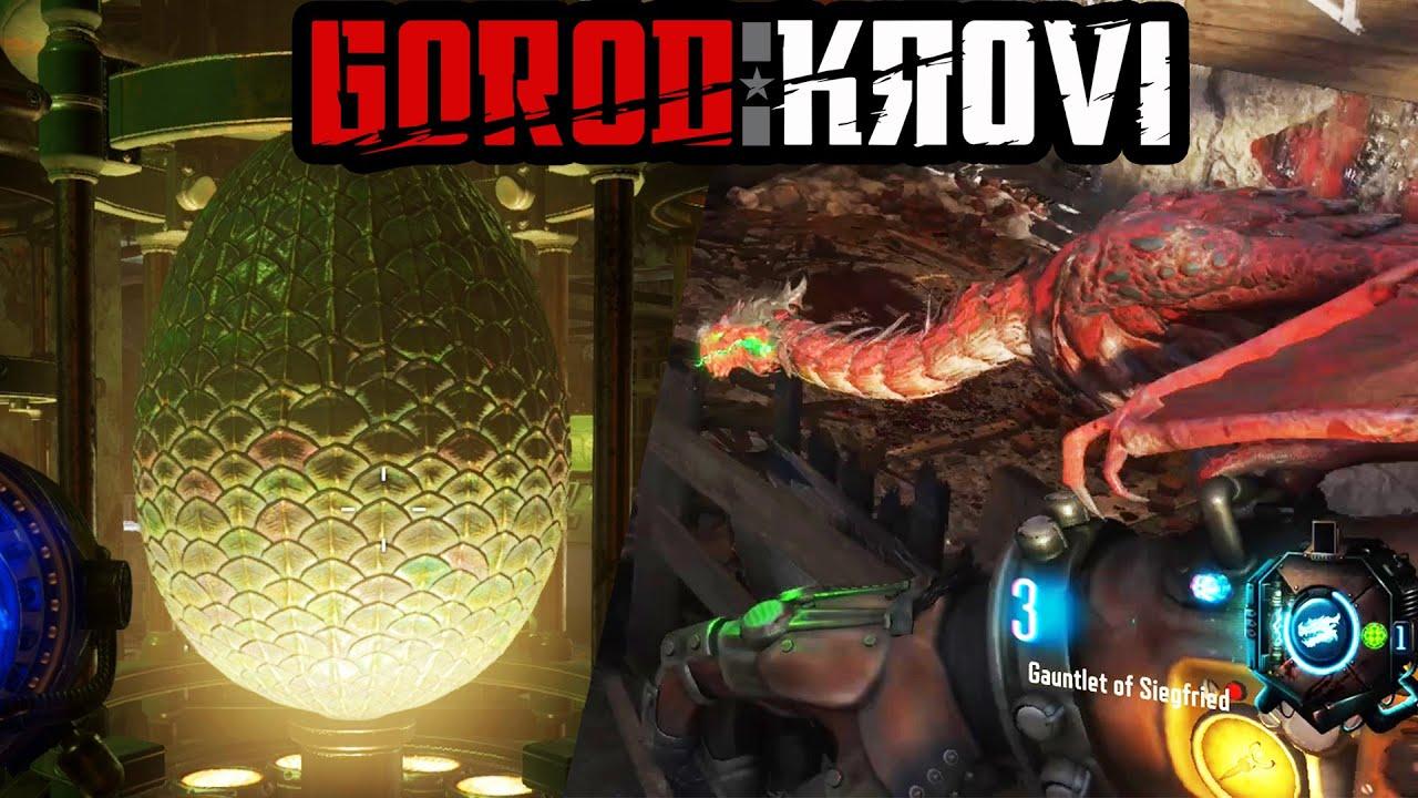 GOROD KROVI EASTER EGG DRAGON EGG & GAUNTLET OF SIEGFRIED TUTORIAL