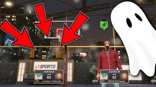 INVISIBLE PLAYER GETS DROPPED OFF!! INVISIBLE PLAYER GLITCH NBA2K17 MYPARK