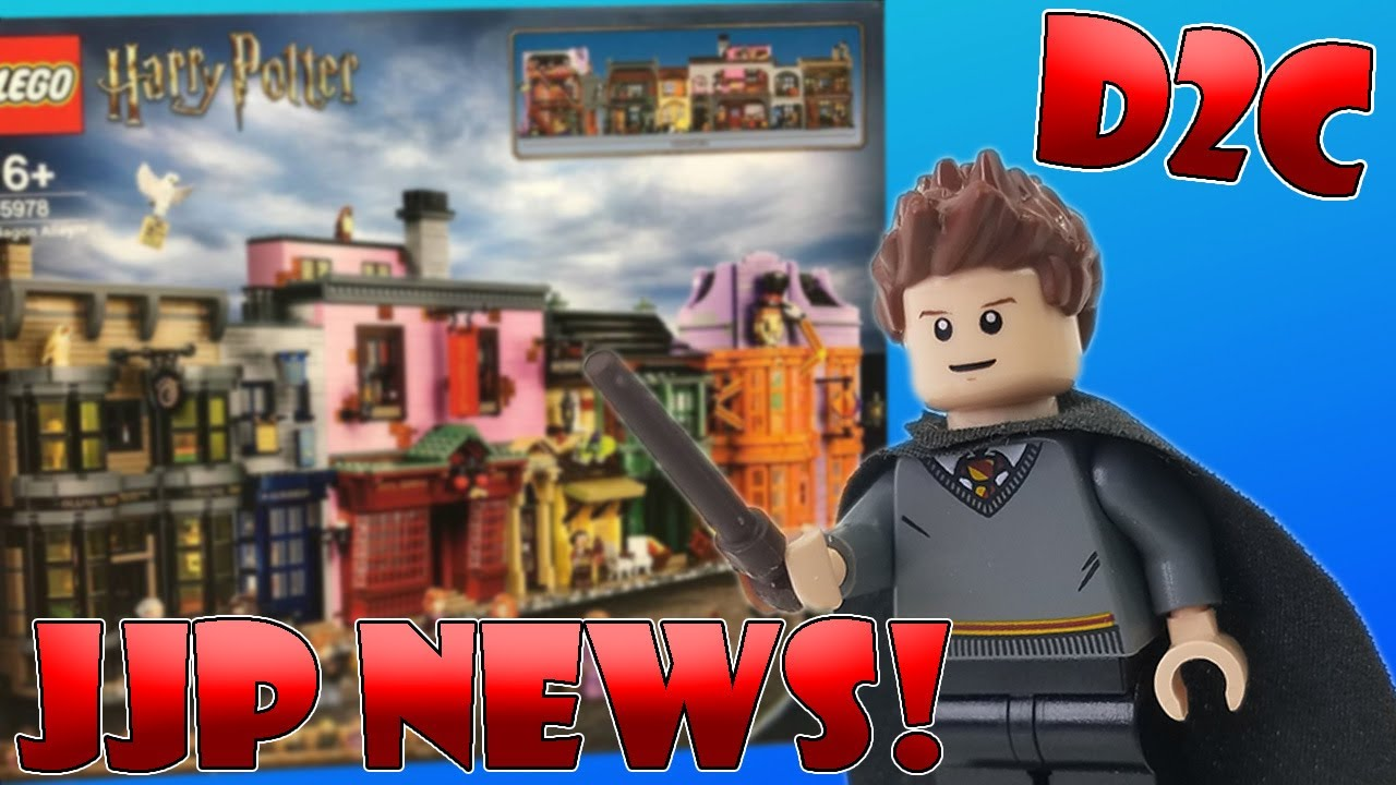 Jjp News Lego Harry Potter 2020 Diagon Alley D2c My Thoughts Youtube