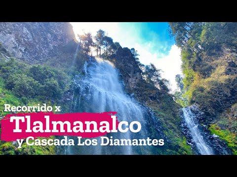 Recorrido por Tlalmanalco y la Cascada Los Diamantes en el parque Dos Aguas en Estado de México