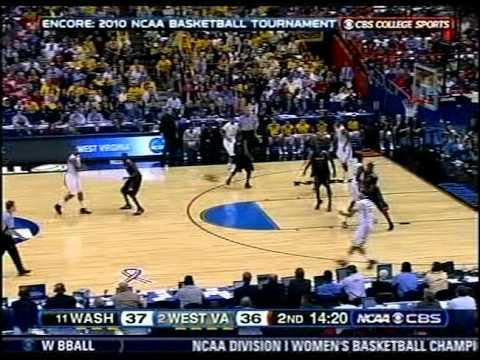 2010 NCAA Tournament - WVU vs Washington