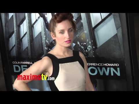 "Zoe Lister-Jones ""Dead Man Down"" Premiere Red Carpet ARRIVALS"