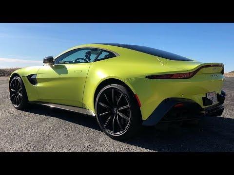 2019 Aston Martin Vantage Second Take Youtube