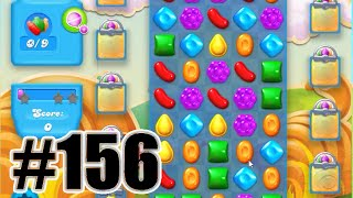 Candy Crush Soda Saga Level 156 | Complete! No Booster