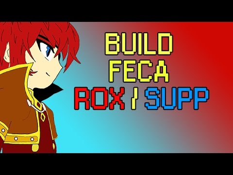 Wakfu Tutos - Build Féca Feu Eau / Rox Support (mon build personnel + gameplay + stuff + combos)