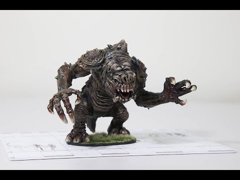 Star Wars Imperial Assault Painting Tutorial (Episode 1): Rancor