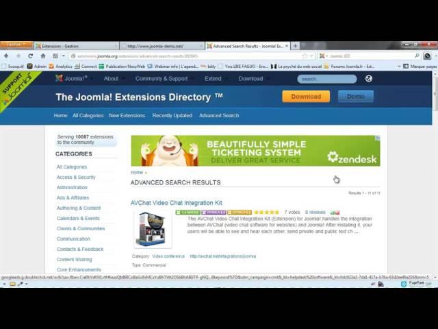 Joomla 3 - Qu'est-ce qu'un module et où trouver les meilleurs
