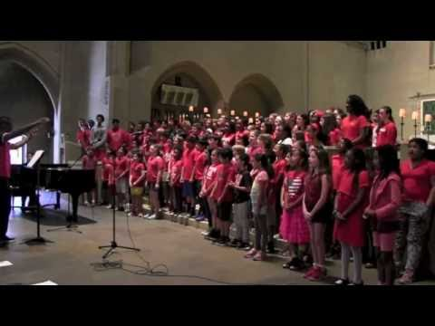 "Manhattan Country School Chorus Performs ""Home"""