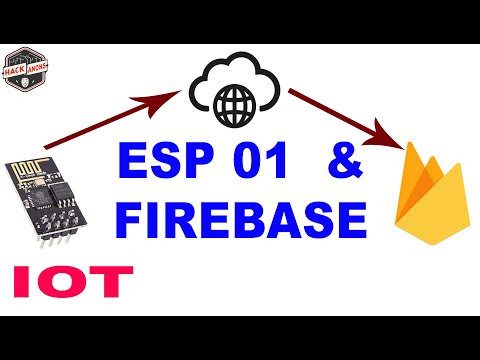 ESP8266 -01 connect with Firebase Database ESP-01 Module