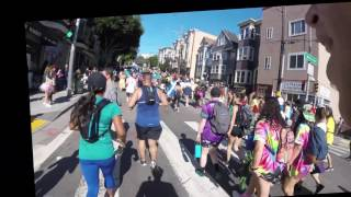 Hayes St. Hill — Bay to Breakers 2017