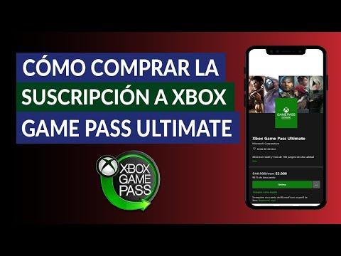 Cómo Comprar o Pagar la Suscripción a Xbox Game Pass Ultimate