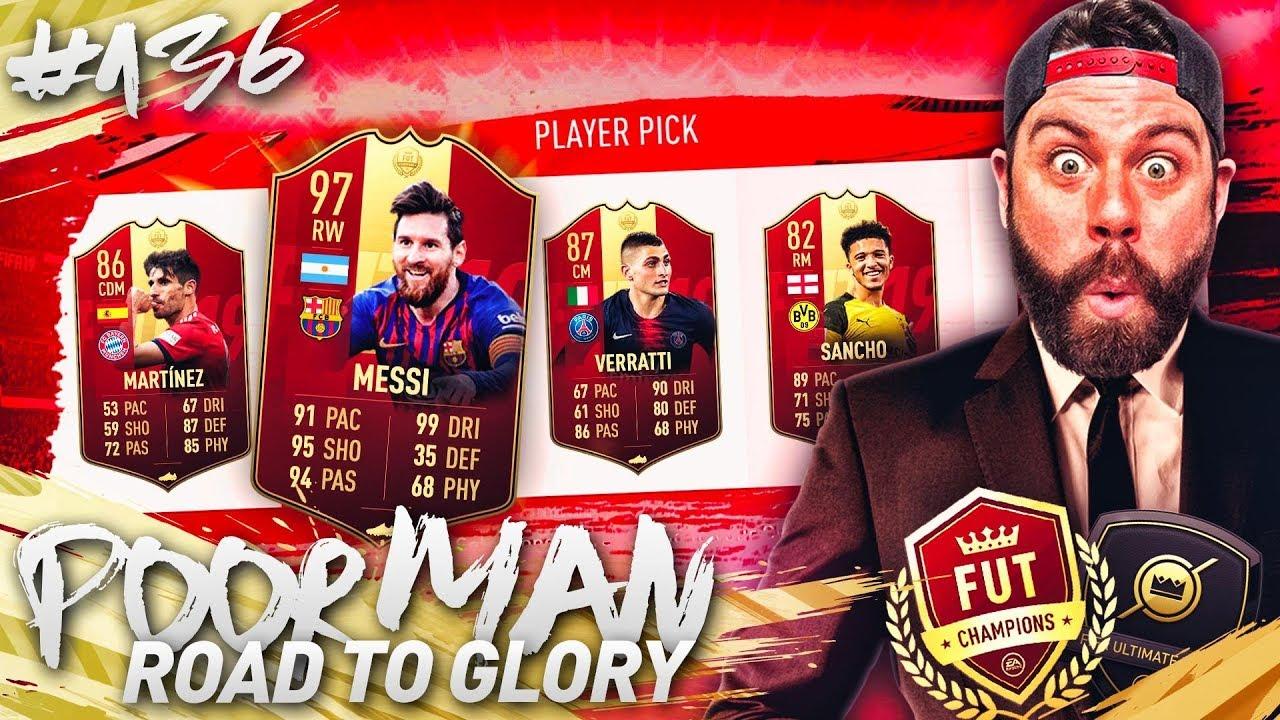 RED INFORM PLAYER PICK PACKS! SO MANY REWARD PACKS! - POOR MAN RTG #136 - FIFA 19