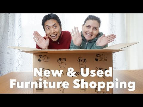 Buying Furniture in Japan (new & second hand)