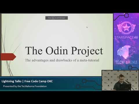 Free Code Camp OKC: Joe Lee - The Odin Project: Advantages And Drawbacks Of A Meta-tutorial [2017]