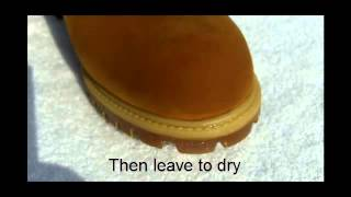 Liquid Glass Shield Protects Suede Boots