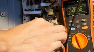 Video How to discharge a capacitor with a multimeter or discharge tool download MP3, 3GP, MP4, WEBM, AVI, FLV November 2017