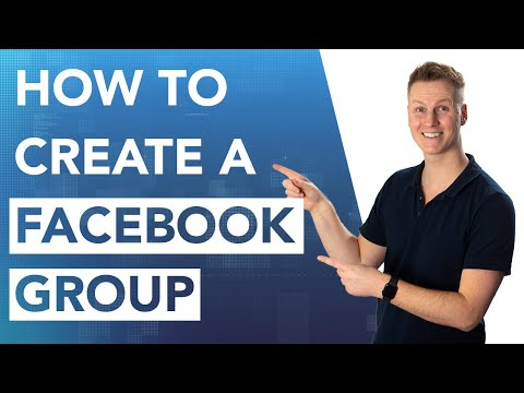 How To Create A Facebook Group 2020