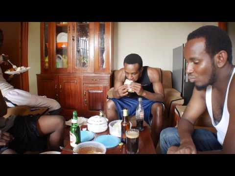 African Boys Try German Food for The First time!!! Funny.