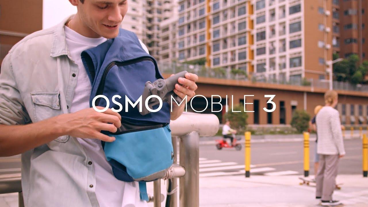 DJI Osmo Mobile 3 - Uwolnij swoją kreatywność (PL) DJI ARS