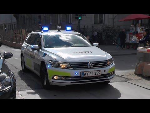 [Copenhagen] 4x police responding code 3 in Copenhagen